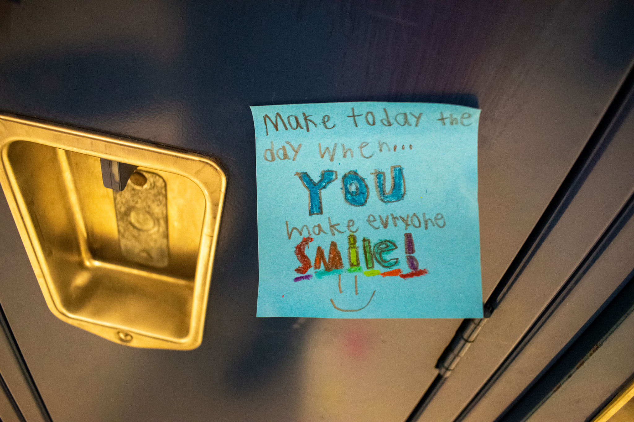 "Positive Post-it Day ""...You Make People Smile"""