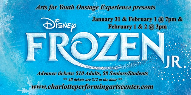 Youth for Arts production of Frozen Jr.